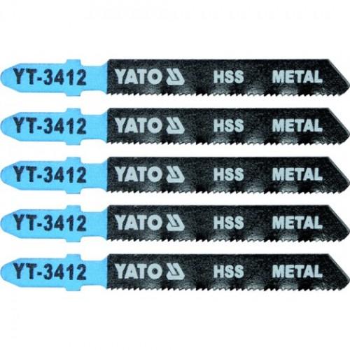 Полотна для электроло.(металл) 21TPI 5пр YATO YT-3412