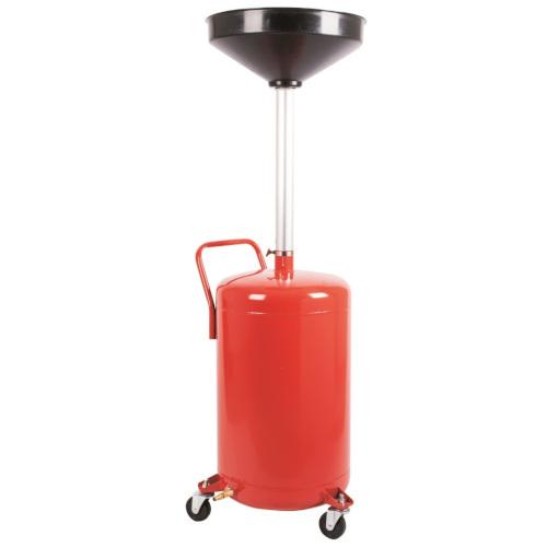 Установка для слива масла металлическая (80л.) G.I. KRAFT B80S