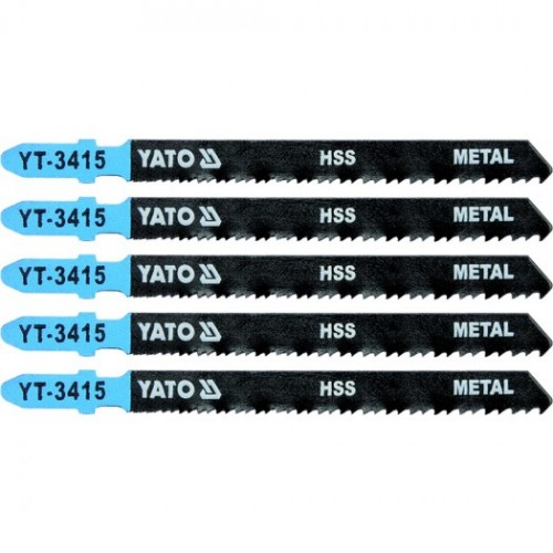 Полотна для электр.(металл) 24-10TPI 5пр YATO YT-3415