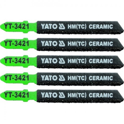 Полотна для электролоб.(керамика) 5пр YATO YT-3421