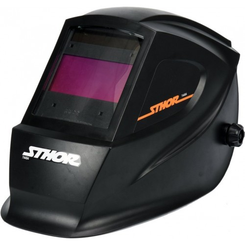 Маска для сварщика с автозатемненным светофильтром 100 х 50 мм STHOR 74484
