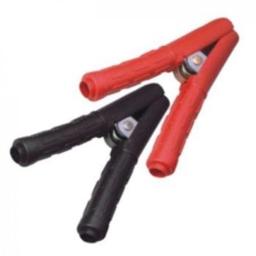 Комлект зажимов для проводов прикуривателя (черный+красный) 3045 JTC
