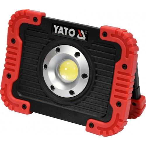 Светодиодный прожектор аккумуляторный 10 Вт 800LM YATO YT-81820