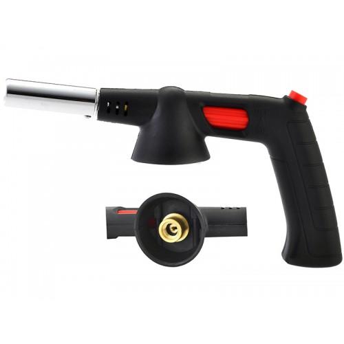 Газовая горелка с пьезозапалом и керамическим соплом резьбовое соединение с ручкой VIROK 44V181