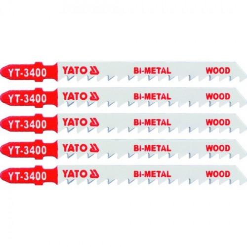 Полотна для электролоб.(дерево) 6TPI 5пр YATO YT-3400