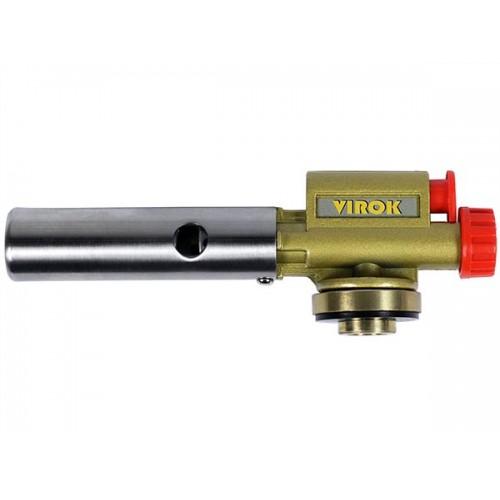 Газовая горелка пъезо, керамическим соплом цанговым соединением 360° VIROK 44V168