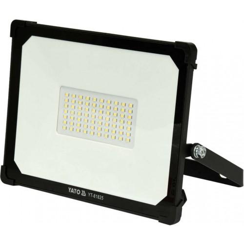 Светодиодный прожектор с ручкой SMD LED 50W 5000LM YATO YT-81825