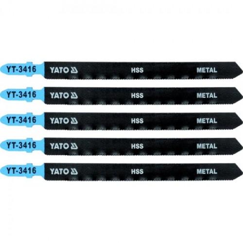 Полотна для электр.(металл) 21TPI 5пр YATO YT-3416
