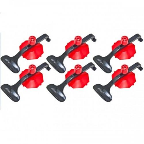Набор вакуумных держателей для панелей d=78 мм 6 ед.