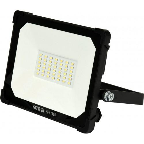 Светодиодный прожектор с ручкой SMD LED 30W 3000LM YATO YT-81824