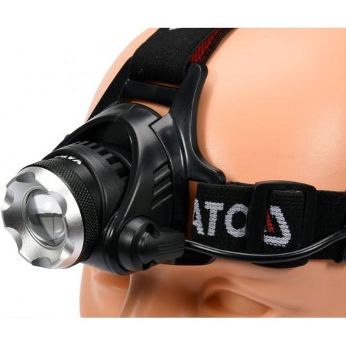 Налобный фонарь XM-L2 CREE 10W 100 лм YATO YT-08591
