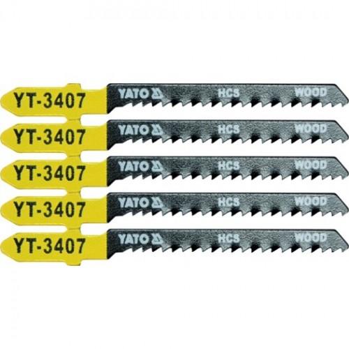 Полотна для электроло.(дерево) 13TPI 5пр YATO YT-3407