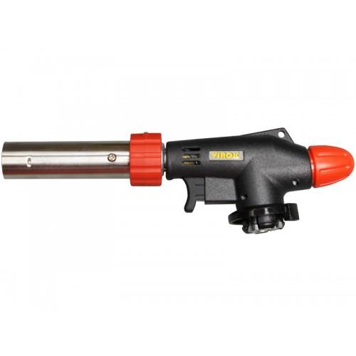 Газовая горелка с пъезоподпалом с цанговым соединением 360° VIROK 44V166