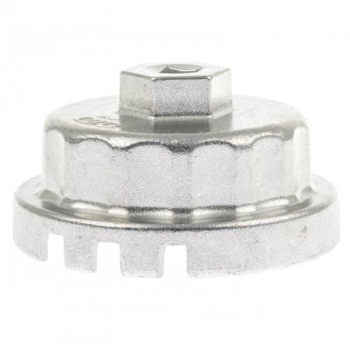 Ключ для маслянного фильтра чашка для LEXUS/TOYOTA  64,5мм х 14граней  (4, 6, 8 цил. ) SATRA S-DLOF38