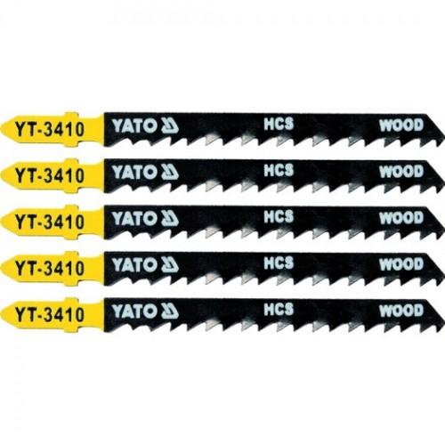 Полотна для электролоб.(дерево) 6TPI 5пр YATO YT-3410