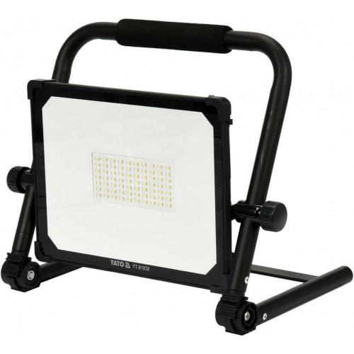Светодиодный прожектор переносной 50W 5000LM YATO YT-81836
