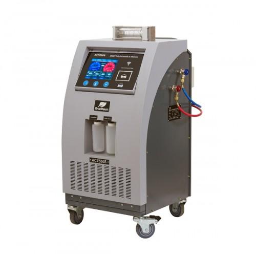 Установка для обслуживания автокондиционеров автоматическая, R134 GrunBaum AC7500S SMART FLUSHING