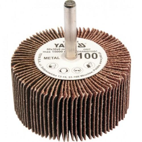 Круг лепестковый со шпинд. 60х30х6 Р100