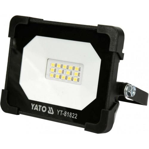 Светодиодный прожектор с ручкой SMD LED 10W 6500 К 900LM YATO YT-81822
