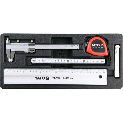 Набор измерительного инструмента 5 предметов YATO YT-55474