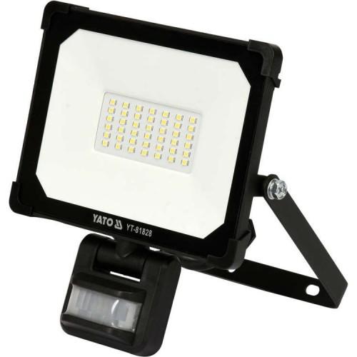 Светодиодный прожектор 30W 3000LM  с датчиком движения  YATO  YT-81828