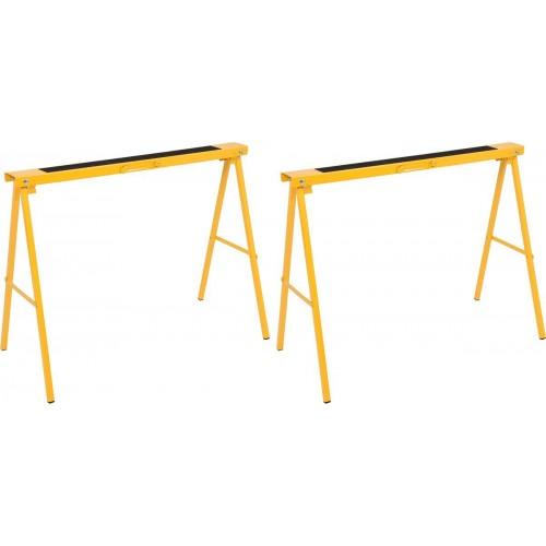 Стойки раскладные стальные для малярных работ 100х 10х 75 см - 200 кг. VOREL 29401