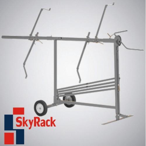 Стенд мобильный для покраски и сушки снятых деталей SkyRack SR-956