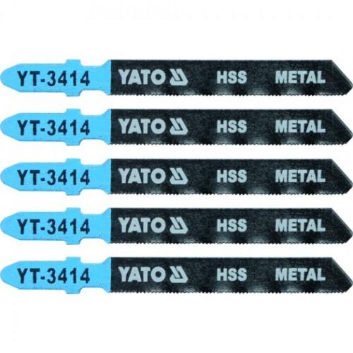 Полотна для электроло.(металл) 32TPI 5пр YATO YT-3414