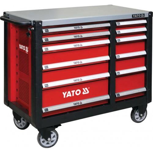 Инструментальная тележка на 12 полок YATO YT-09003