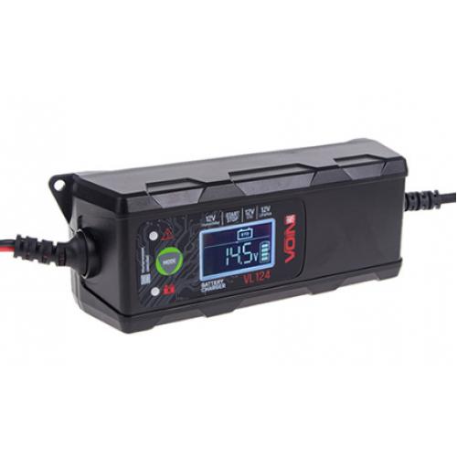 Зарядное устройство импульсное VOIN VL-124 12V/4A/3-120AH (VL-124)