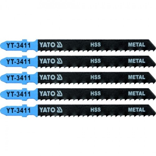 Полотна для электролоб.(металл) 8TPI 5пр YATO YT-3411