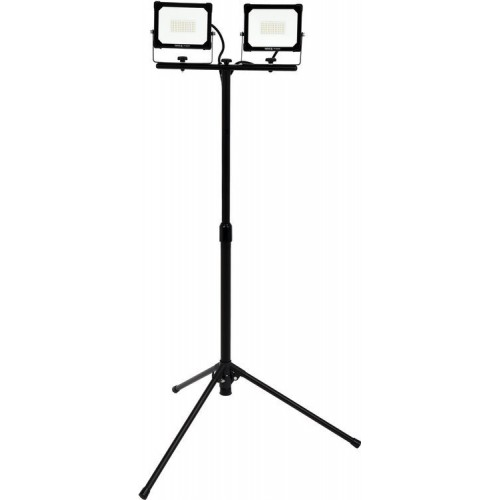 Светодиодный прожектор  на стойке 2 X 30W X 5400LM на стойке  YATO YT-81817