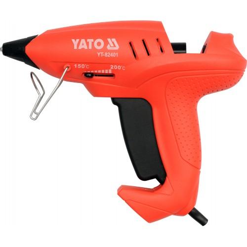 Пистолет термоклеящий 11мм 35(400)вт YATO YT-82401