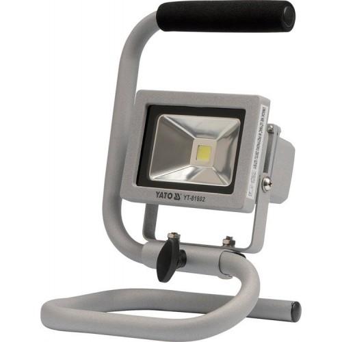 Светодиодный прожектор с ручкой 10Вт, 700LM YATO YT-81802