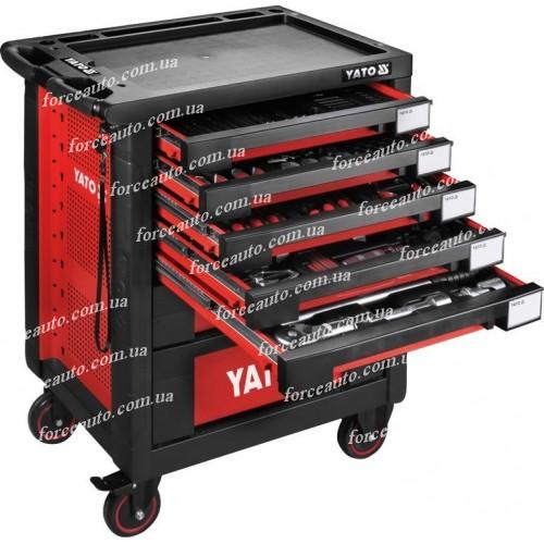 Инструментальная тележка 165 предметов YATO YT-55293