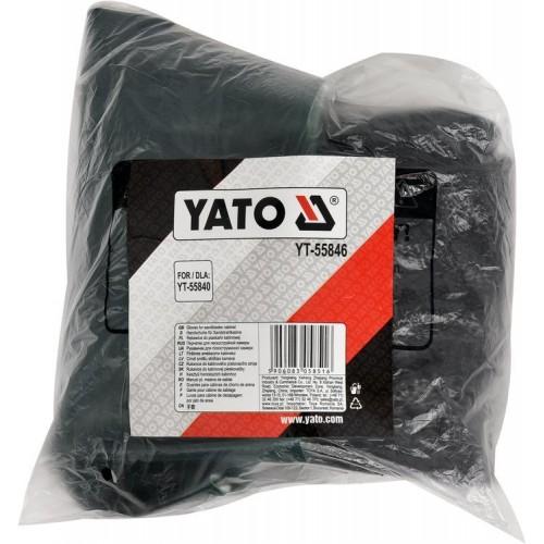 """Рабочие перчатки на резинке из синтетической кожи """"SPANDEX"""" (размер 9 (XL))  YATO YT-74667"""
