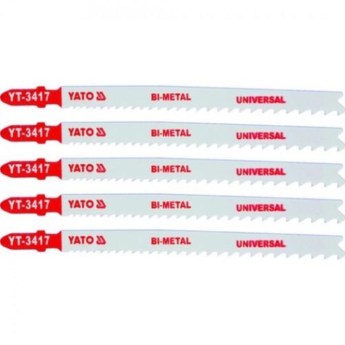 Полотна для электр.(металл) 10-5TPI 5пр YATO YT-3417