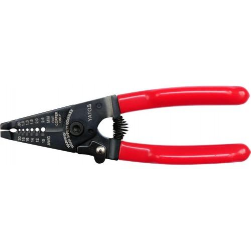Инструмент для зачистки изоляции проводов  0,8 мм2 до 2,6 мм2 YATO YT-2267