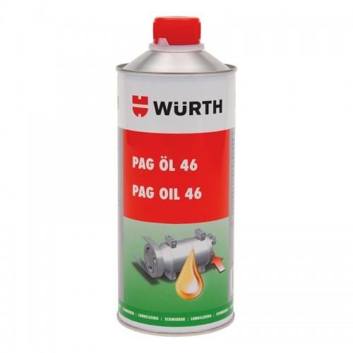 Масло для компрессора PAG 46 на основе полиалкиленгликоля для систем кондиционирования воздуха OEL-PAG-46-250ML Wurth