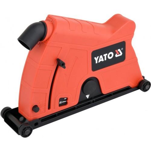 Кожух пылезащитный к УШМ для резки и шлифовки на диск Ø230 мм YATO YT-82990