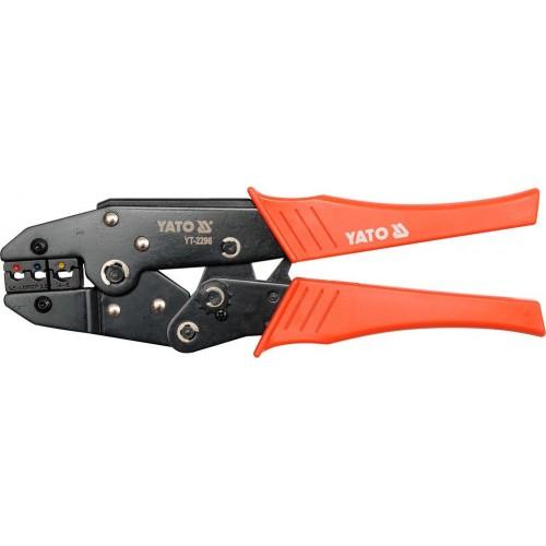 Инструмент для опрессовки клемм 0,5-6 мм2, YATO YT-2296