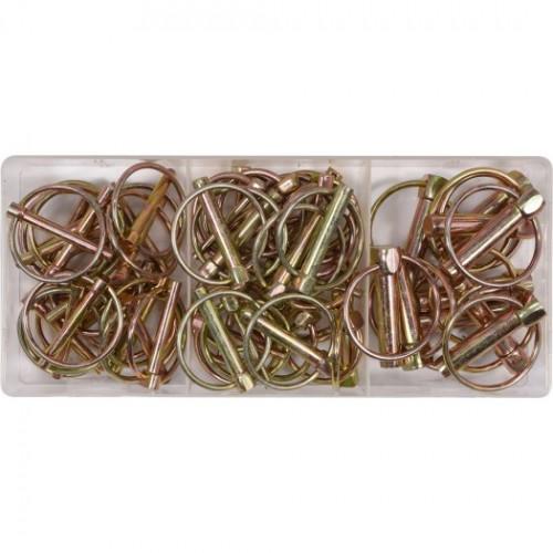 Набор шплинтов с кольцом 50 пр