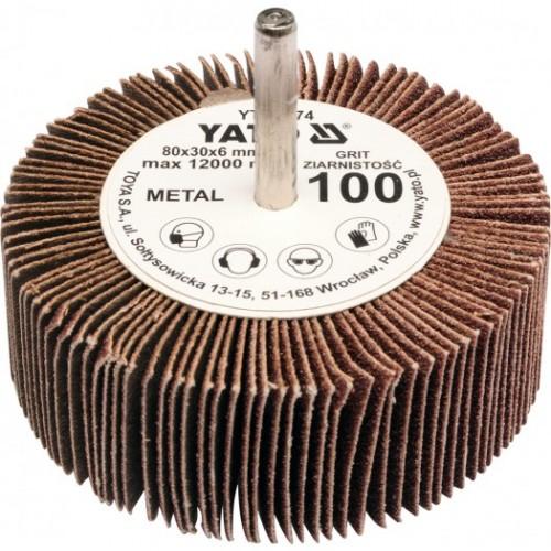 Круг лепестковый со шпинд. 60х30х6 Р40