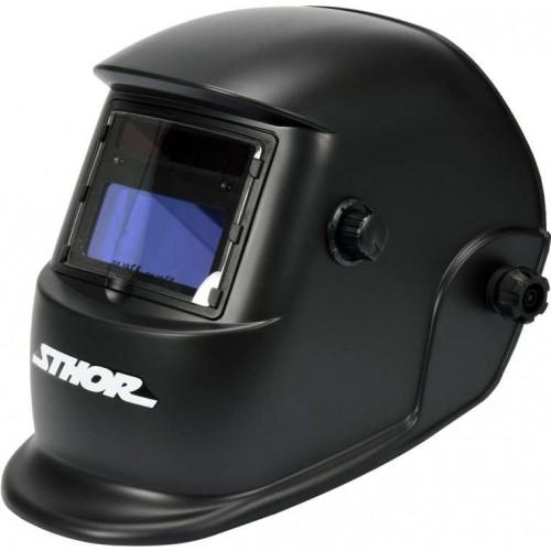 Маска для сварщика POWER UP с автозатемненным светофильтром 110 х 90 мм STHOR 74480